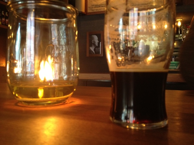 Amager Rugporter at Beer Table