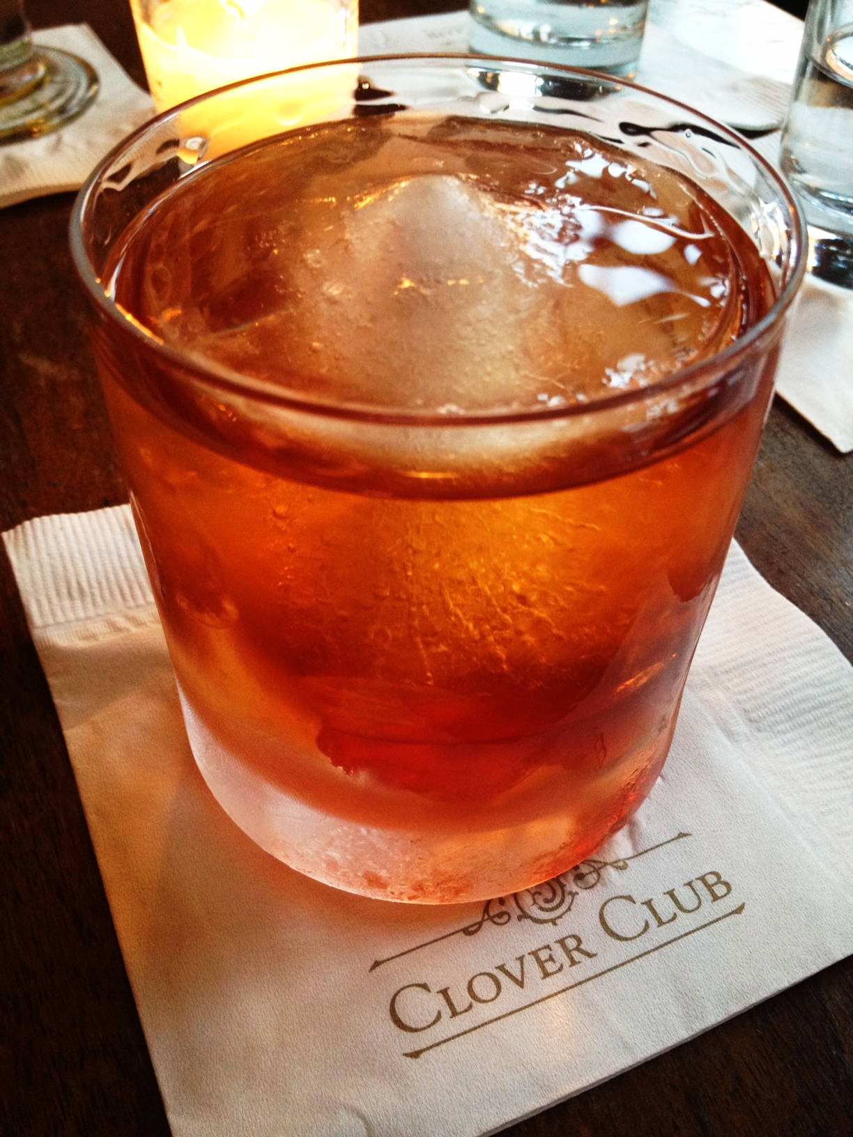 Drinking Out: The Smith & Street Cocktail at Clover Club