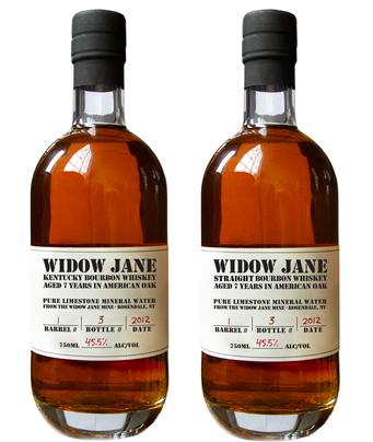 Widow Jane bottle comparison