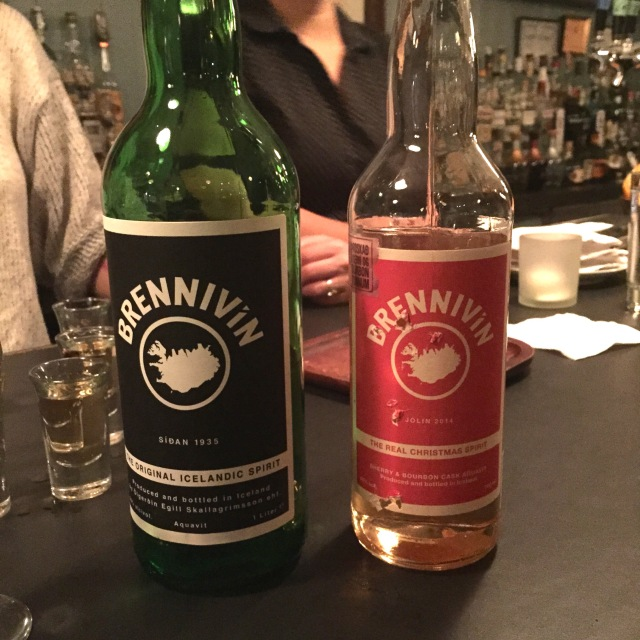 Brennivin and Christmas Spirit