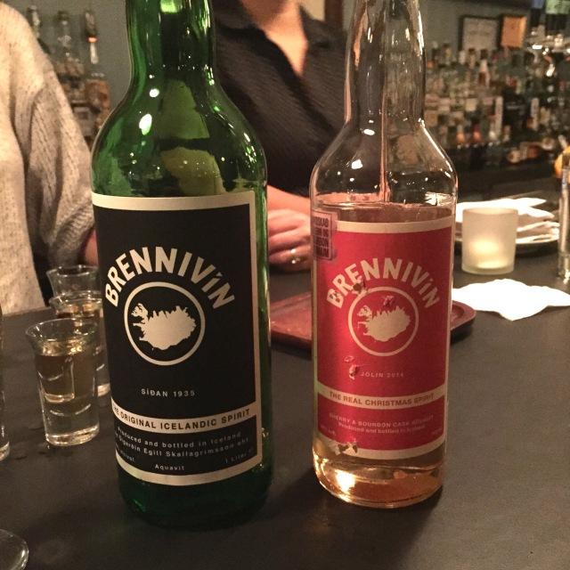 Brennivin and Christmas Spirit