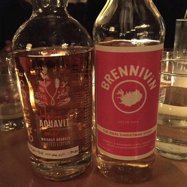 Holiday on Rye and Brennivin Christmas